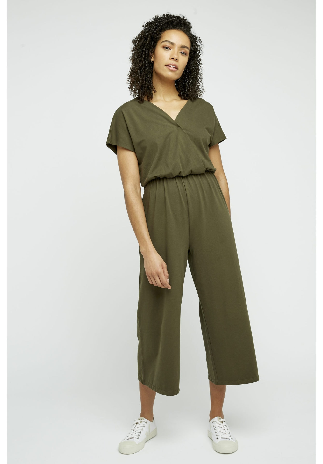 Evelyn Jumpsuit in Khaki
