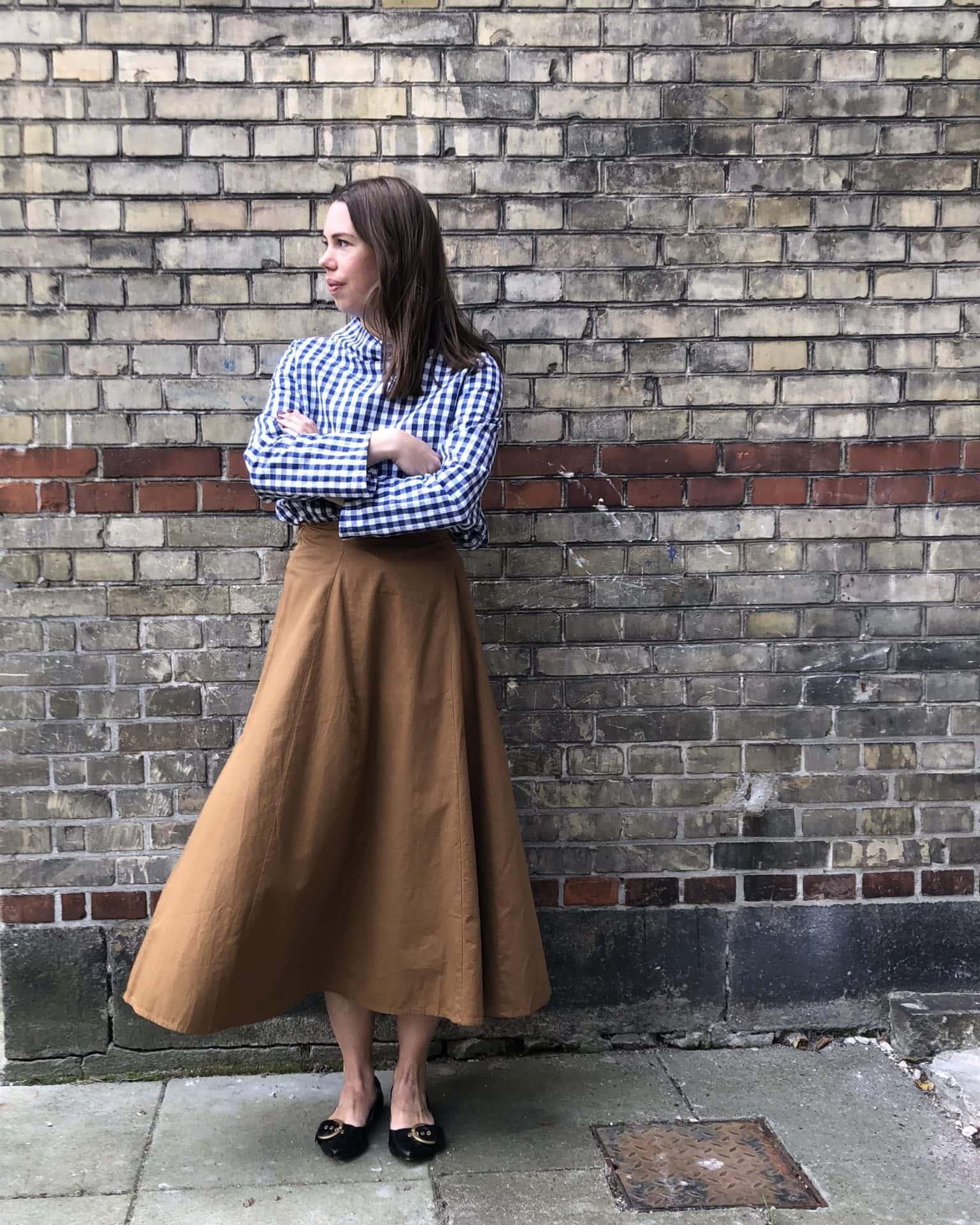 BATEAU SMOCK linne clothing slow fashion made in denmark