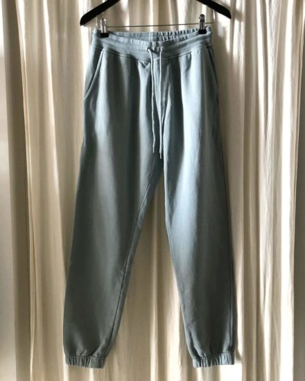 Classic organic sweatpants steel blue colorful standard økologisk bomuld