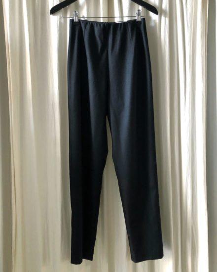 THE STRAIGHT PANTS black item studio uldbukser
