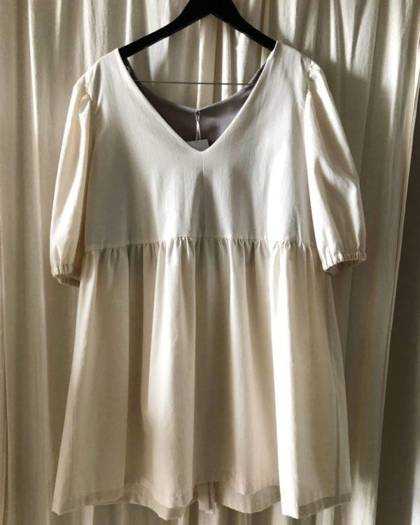 Ana kjole økologisk bomuld
