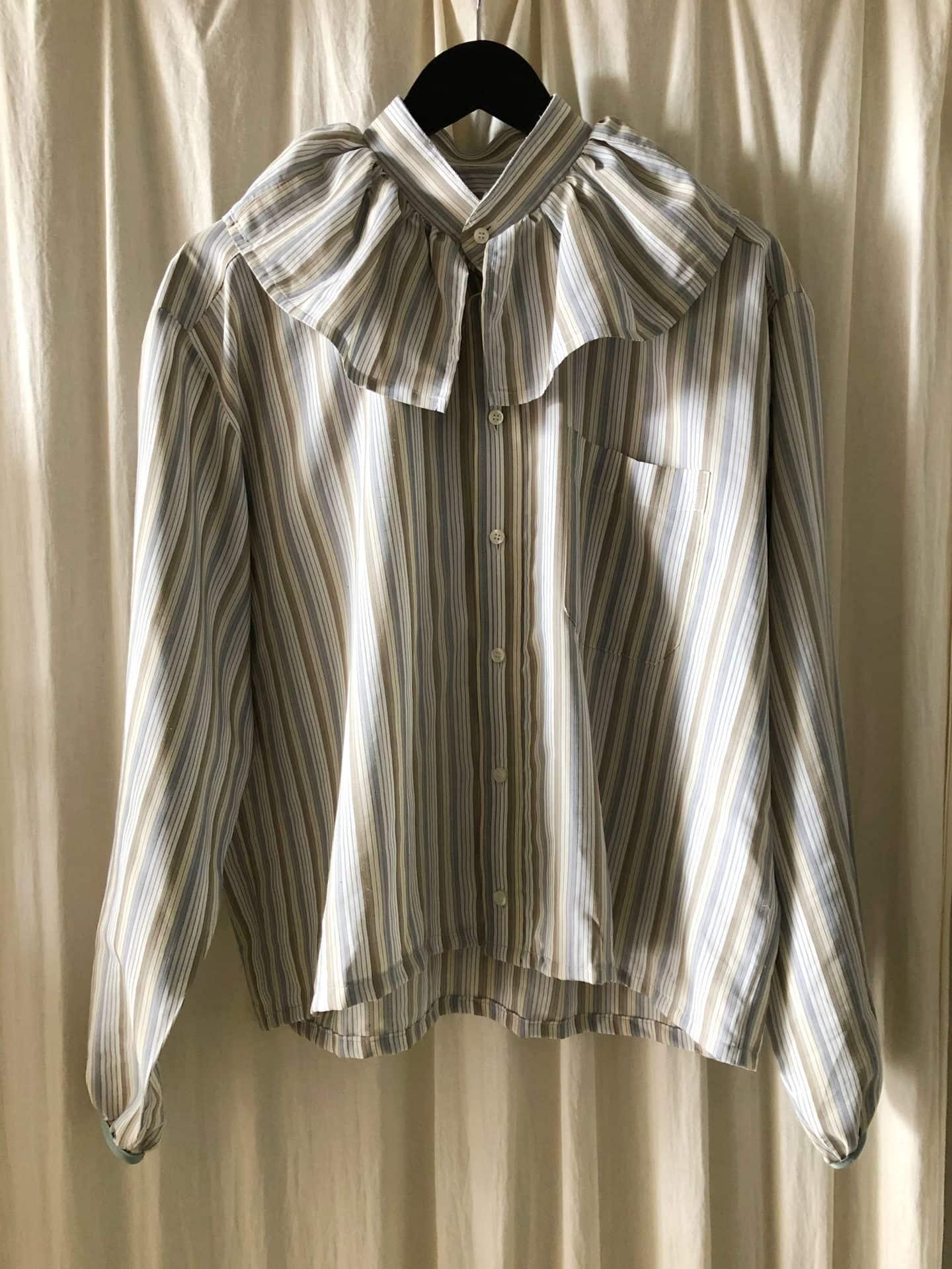 brown striped luna shirt