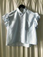 Light blue structure nora shirt
