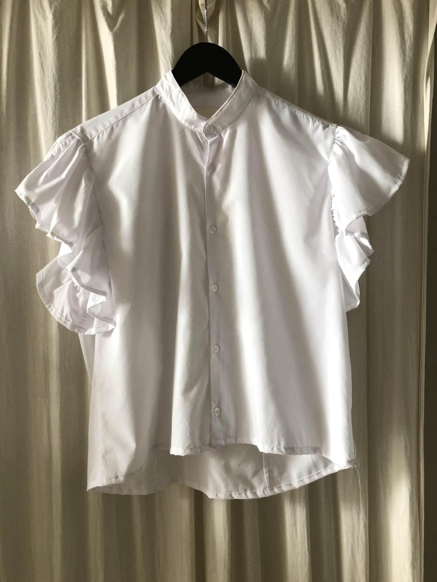 White nora shirt