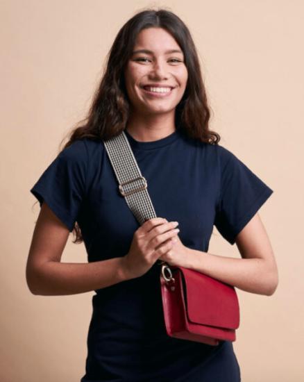 Audrey Mini ruby o my bag