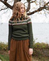 Raglan sweater cedar
