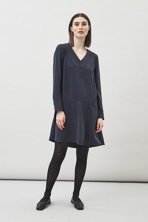 Zuri long sleeve tencel dress