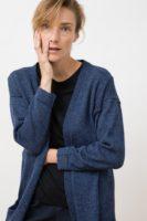 Yuina knit cardigan blue