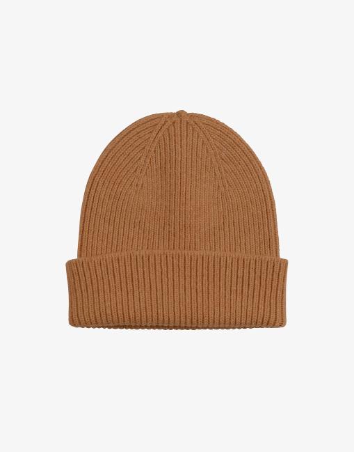 Merino wool beanie – sahara