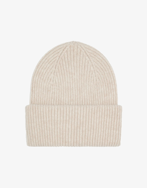 Merino wool hat – ivory white