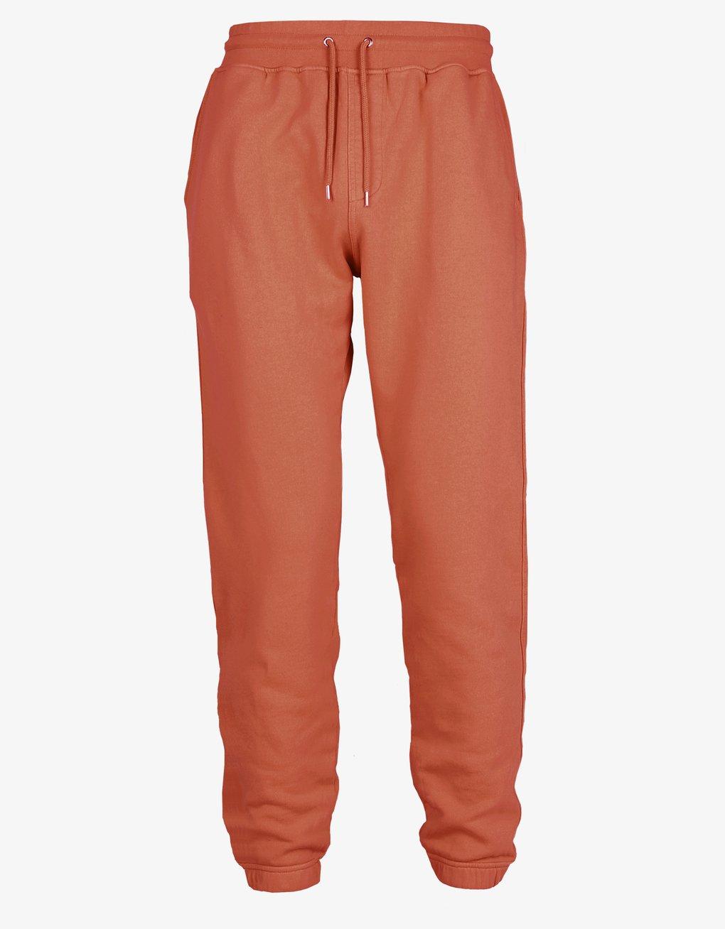 Classic organic sweatpants – Dark amber