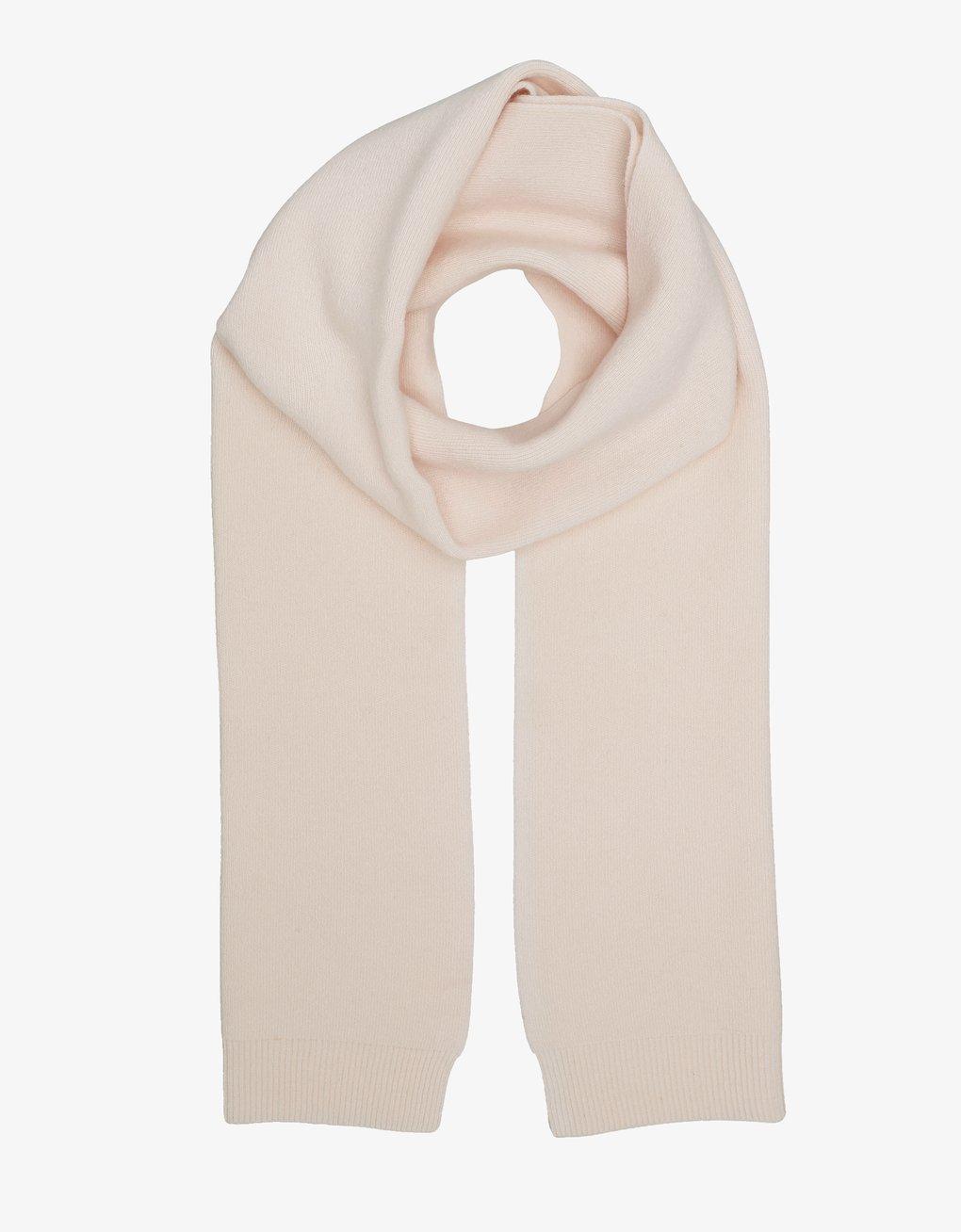Merino wool scarf – Ivory white
