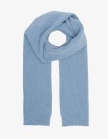 Merino wool scarf – Stone blue