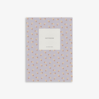 Small notebook // small flower lavender