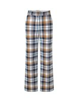 Pinda pants organic cotton beige checkered