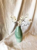 Vase – grønblå