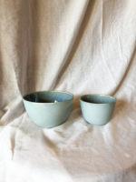 Mat og blank  – blågrøn