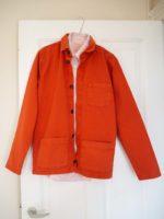 Worker jacket orange