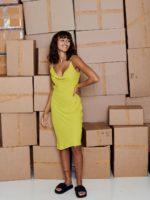 Sally Slip dress Citronelle