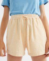 Seersucker Geranio Shorts