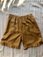 Kløver shorts Gul